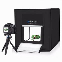 Photo box Aναδιπλούμενο PULUZ 40x40cm με ενσωματωμένο φωτισμό LED