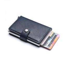Πορτοφόλι Με Προστασία Υποκλοπής RFID και Μηχανισμό - Anti-thief Wallet