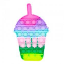 Pop It Bubble Fidget Αγχολυτικό Παιχνίδι Milkshake