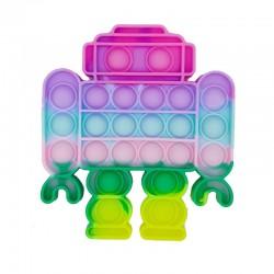 Pop It Bubble Fidget Αγχολυτικό Παιχνίδι Ρομποτάκι