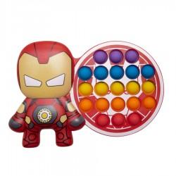 Pop It Fidget Iron Man Σκληρή Παλέτα