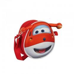 Τσάντα 3D Super Wings Κόκκινη