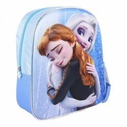 Σχολική Τσάντα 3D FROZEN ΜΠΛΕ (25 X 31 X 10 CM)