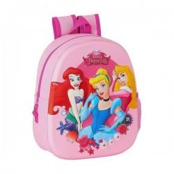 Παιδική Τσάντα 3D Princesses Disney Ροζ!