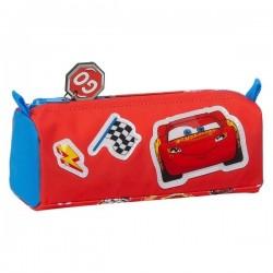 Σχολική Κασετίνα Cars Mc Queen Μπλε-Κόκκινο