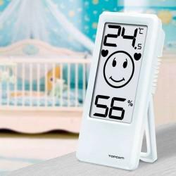 Θερμόμετρο και Υγρασιόμετρο Χώρου TopCom TH4675